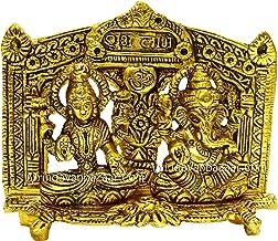 VRINDAVANBAZAAR.COM Lakshmi Ganesh in Temple Arch Metal Idol