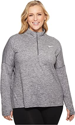Nike Dry Element 1/2 Zip Running Top (Size 1X-3X)