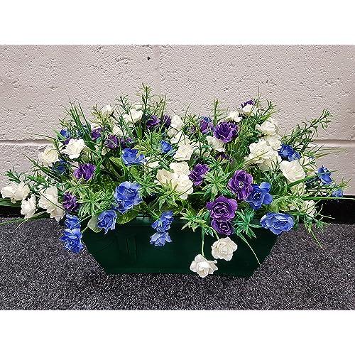 Terrific Artificial Flowers For Planters Amazon Co Uk Download Free Architecture Designs Scobabritishbridgeorg