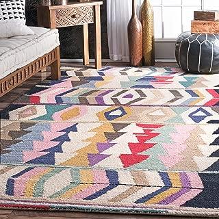 nuLOOM Ofelia Hand Tufted Wool Rug, 4' x 6', Multi