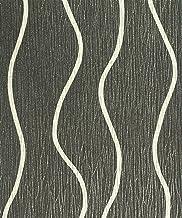 PVCWallpaper Black-silver53 cm x 10.05 m