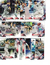 New York Yankees / Complete 2016 Topps Series 1 & 2 Baseball Team Set. FREE 2015 Topps Yankees Team Set WITH PURCHASE!