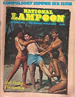 National Lampoon Magazine August 1976 Compulsory Summer Sex Issue, P.J. O'Rourke, Tony Henda, Peter Kleinman and More