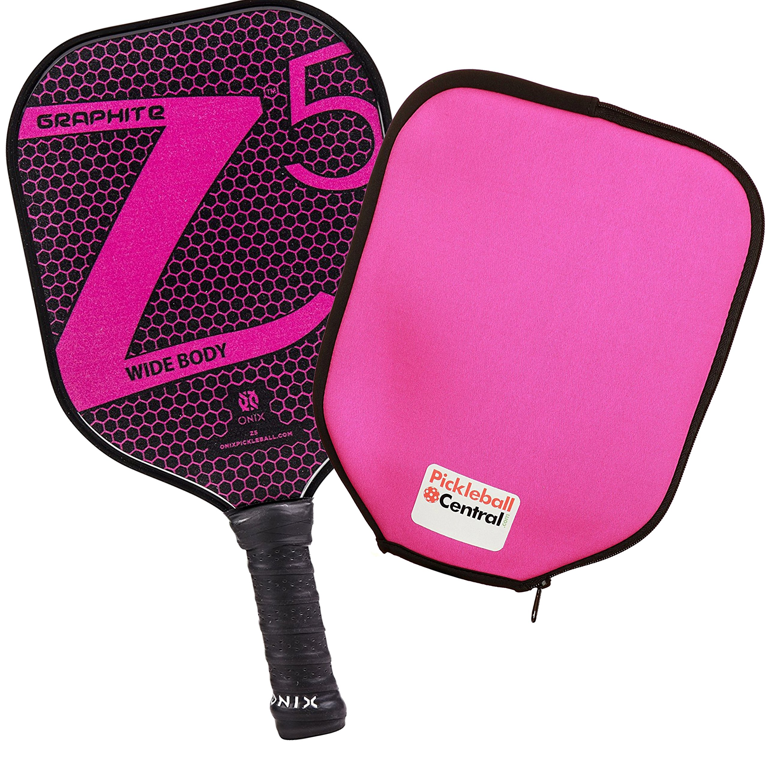 Onix Z5 Graphite Pickleball Paddle and Paddle Cover -55S6