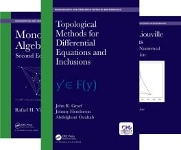 Chapman & Hall/CRC Monographs and Research Notes in Mathematics (51-75) (25 Book Series)