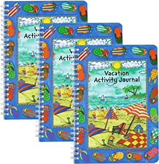 Giftco Vacation Activity Journal For The Beach - 3 Pack