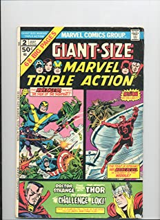 Giant Size Marvel Triple Action #2 Vol 1