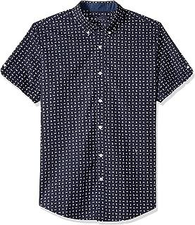 Ben Sherman Men's Ss Seashell Print Shirt