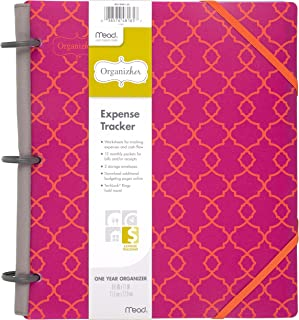 Mead Organizher Expense Tracker, Budget Planner, Bill Organizer, 8-1/2