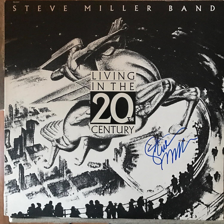 Steve Super intense SALE Miller signed Max 45% OFF album LP