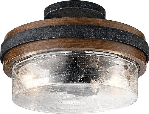lowest Kichler Lighting high quality 44100AUB outlet online sale Semi Flush sale