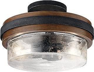 Kichler Lighting 44100AUB Semi Flush