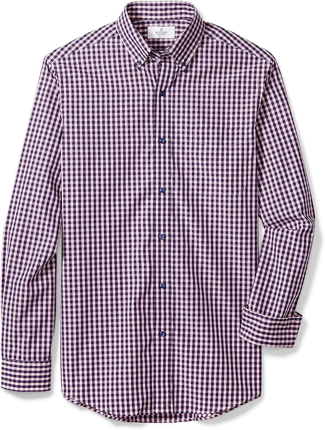 Buttoned Down Men's Classic Fit Button-Collar Los Angeles Mall Dres Deluxe Cotton Supima