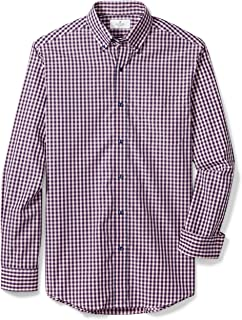 Amazon Brand - BUTTONED DOWN Men's Classic Fit Button-Collar Supima Cotton Dress Casual Shirt