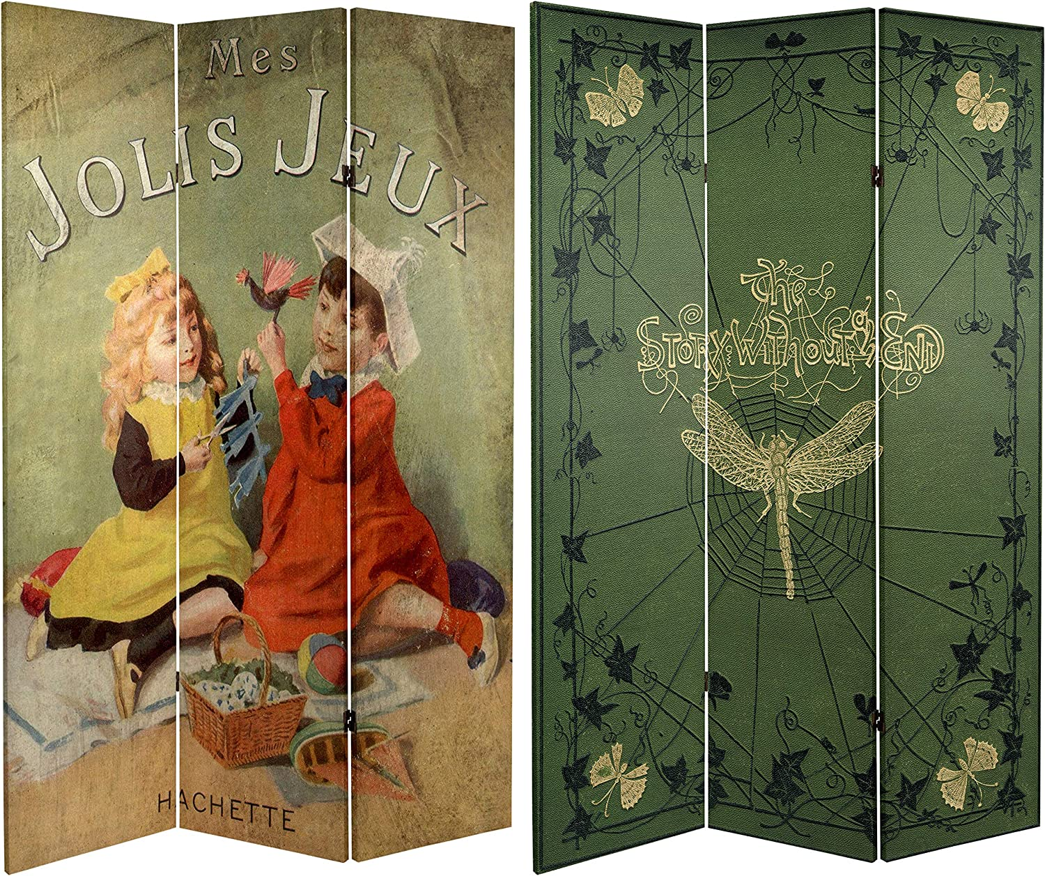 Oriental Furniture 6 ft. Tall Gifts Stories Ca Sided Children's Double New Orleans Mall