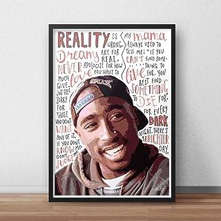 Pósteres/impresiones inspirada en Tupac Shakur