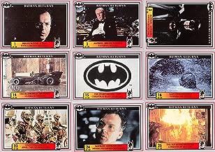 BATMAN RETURNS MOVIE 1992 DYNAMIC COMPLETE BASE CARD + STICKER + INSERT SET 150 + 20 + 3