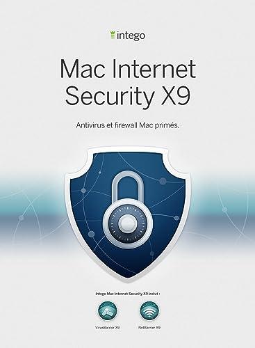 Intego Mac Internet Security X9 - 1 Mac - 1 an de protection [Téléchargement]