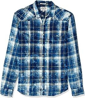 Men's Sleeve Button Up Sugar Magic Wash Western Shirt