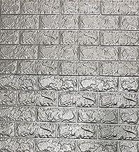 3D-behang wandpanelen, zelfklevend, baksteen, waterdicht, wandsticker, behang, wandpanelen, zelfklevend, moderne wandbekle...
