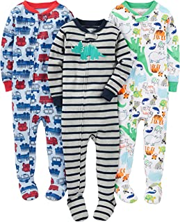 cheap toddler footed pajamas