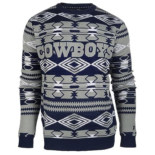 big sale 0f084 e93c5 Dallas Cowboys Ugly Sweaters: Amazon.com