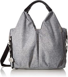 Lassig Neckline Bag, Black Melange