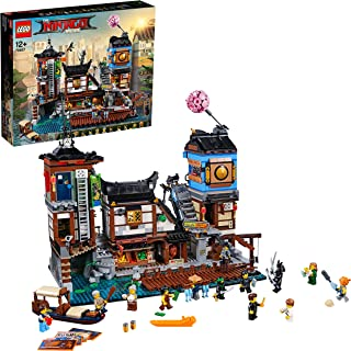 The LEGO Ninjago Movie Ninjago City Docks 70657 Playset Toy