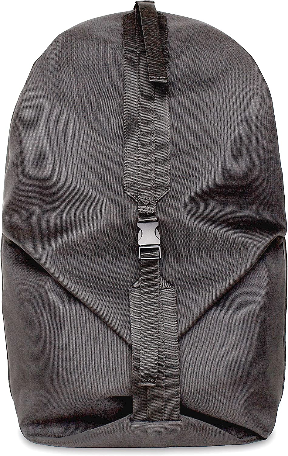 Cote&Ciel Coated Canvas Oril Small Backpack   Black 28683