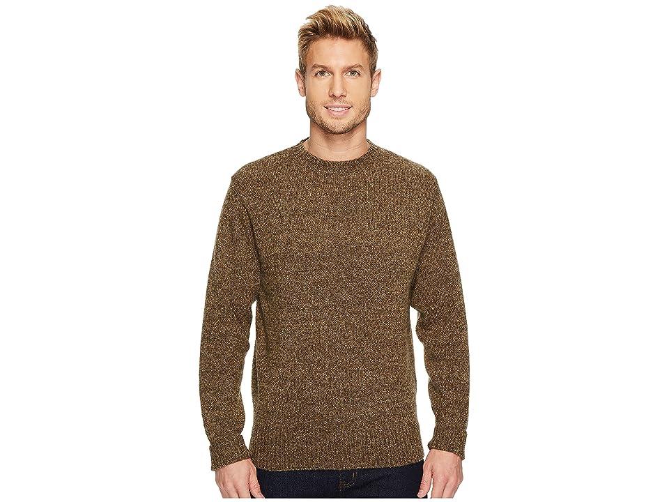 Pendleton Shetland Crew Sweater (Coffee Heather) Men