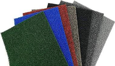 Nicoman Dirt-Trapper Barrier Door Mat Heavy Duty Floor Matt-(Use Indoor or Sheltered Outdoor), Spaghetti Doormat, Brown wi...