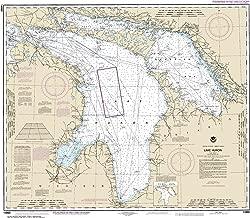 NOAA Chart 14860 Lake Huron: 32.97