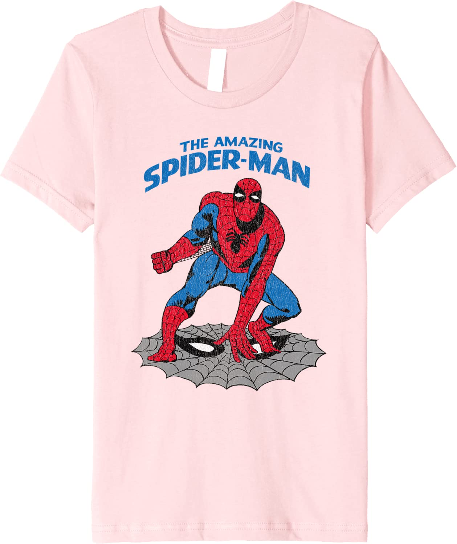 Marvel The Amazing Spiderman T-Shirt Donna