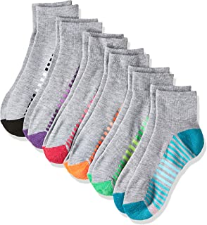 Women's 6-Pack Cool Comfort Moisture Wicking Arch Support Ankle Socks