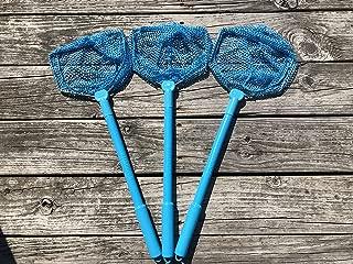 Illuminet 3 Pack Floating Bait Nets: Kids Beach Nets, Beach Toys for Kids, Kid Fishing Nets, Butterfly Net, Beach Toy, Shelling Net, Dip Net, Crab Net, Critter Net, Fish Net, Bug Net, Minnow Net