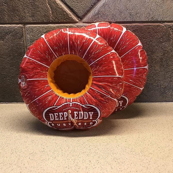 Deep Eddy Vodka Inflatable Coasters Set Of 2