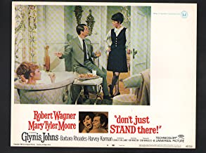 MOVIE POSTER: Don't Just Stand There Lobby Card #8-1972-Mary Tyler Moore