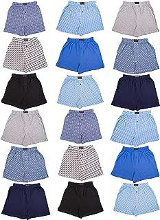 Andrew Scott Boys 18 Pack Cotton Boxer Shorts