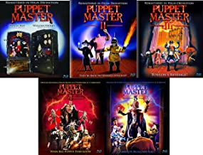 Puppet Master Cult Horror 5-Movie Collection Remastered Volumes 1-5 Blu-ray Bundle