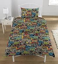 Doctor Who Comics Uk Single Duvet/doona Cover And Pillowcase Set