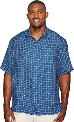 Tommy Bahama Big & Tall Big & Tall Keep It in Check Camp Shirt