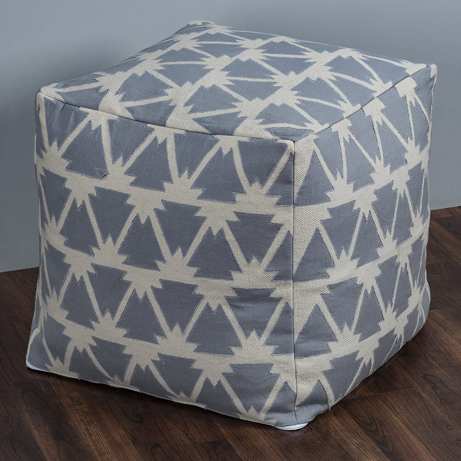 Rizzy Home P10383 Pouf Natural unisex Al sold out. 20