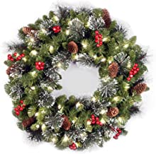 a wreath that turns into a christmas tree