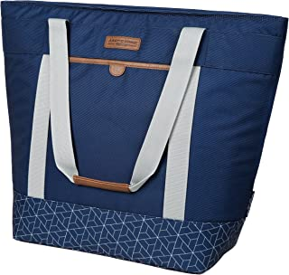 Arctic Zone 2010IL15284B Jumbo Thermal Insulated Tote Hot/Cold Food Carrier, Navy