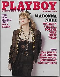 Playboy Magazine Madonna Nude September 1985