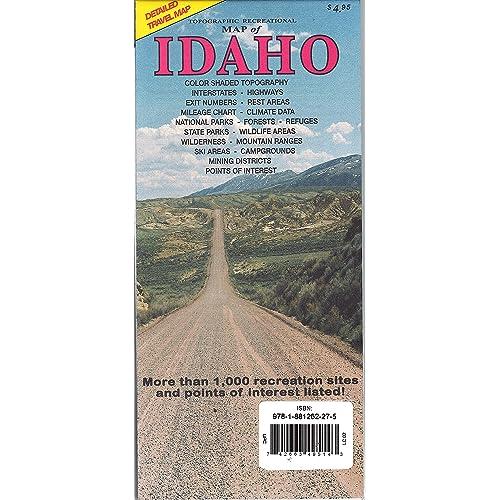Idaho Maps: Amazon.com on idaho montana wyoming road maps, idaho map with cities, idaho drive map, idaho color map, idaho highway map, idaho food map, mccall idaho map, stanley idaho map, idaho power map, ada county idaho map, idaho per diem map, idaho history map, idaho temperature map, idaho travel map, idaho maintenance map, idaho hotel map,