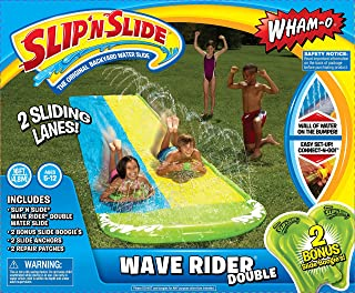 bowling ball slip n slide