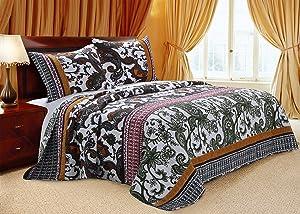 Greenland Home Orleans Quilt Set, 3-Piece King