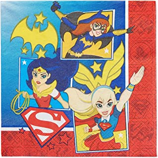 DC Superhero Girls Lunch Napkins
