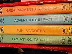 Walt Disney Parade- Fun; Fact; Fantasy; Fiction 4 Vol. Set in Slip Case Hardcover – 1969 By Walt Disney